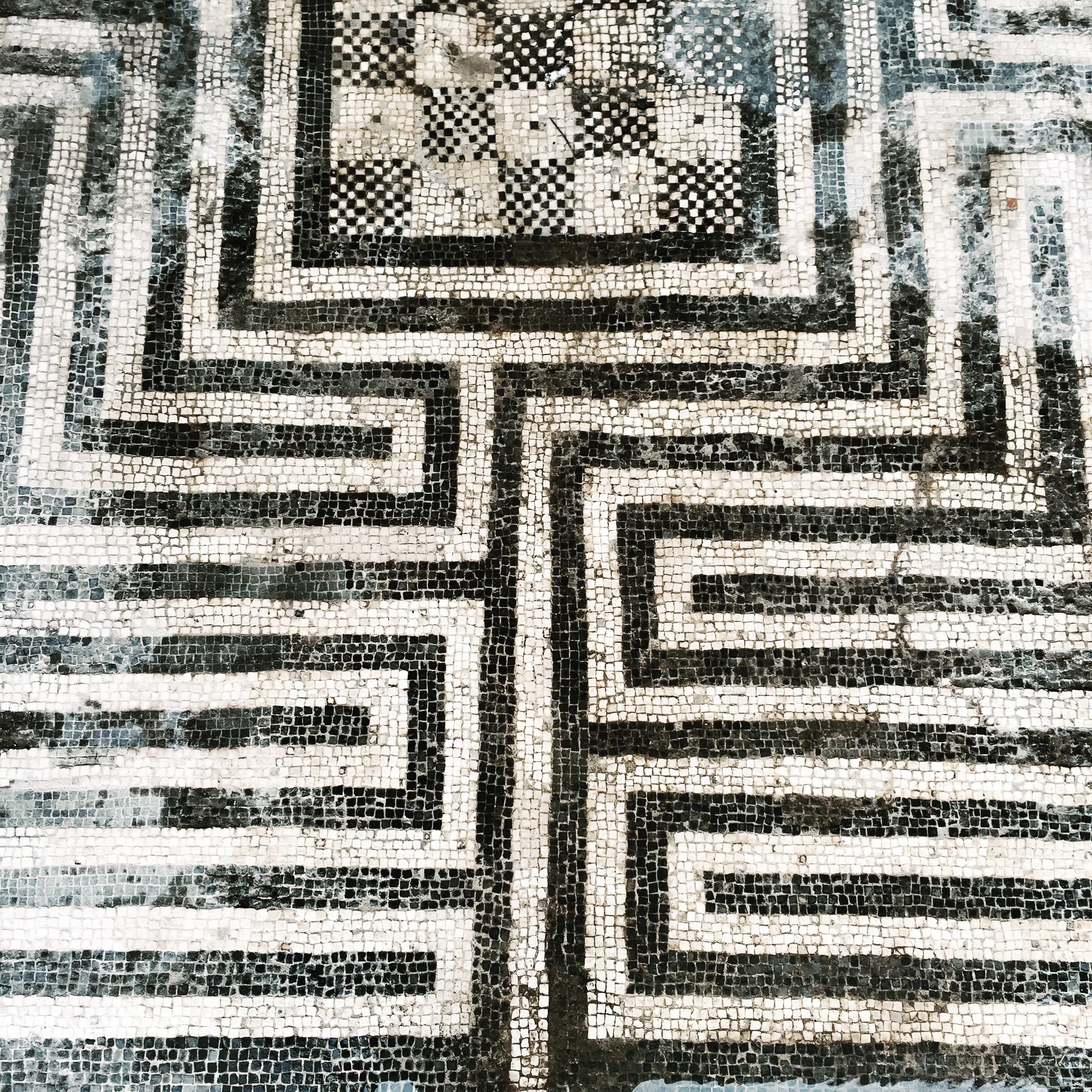 labyrinthe-pompei-mosaique