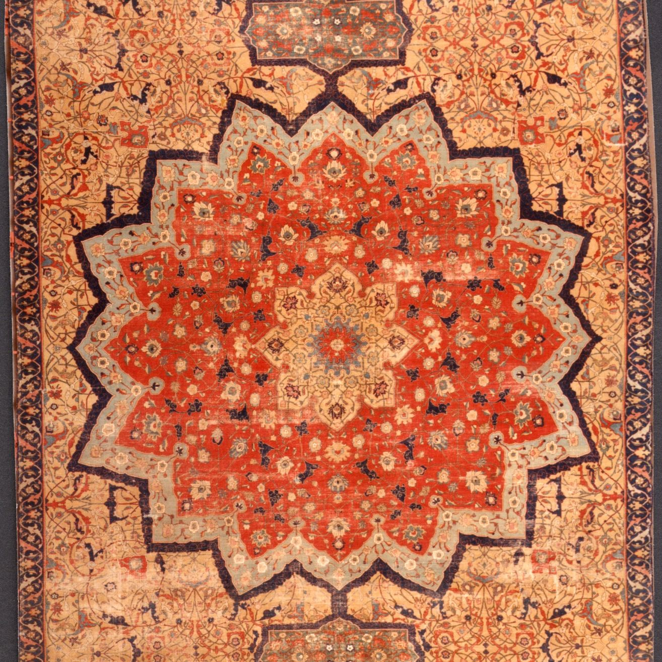 Tapis persan de Tabriz, circa 1511 - 1544 © Les Gobelins