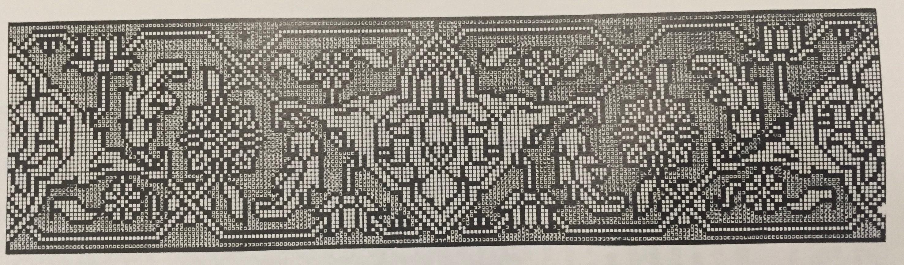 Motif compris par Cammann comme une stylisation protectrice de l'oiseau du Paradis. Image issue de l'ouvrage