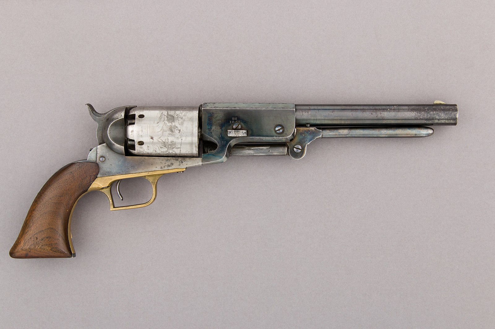 Revolver Walker Colt simple action, 1847 © MET Museum