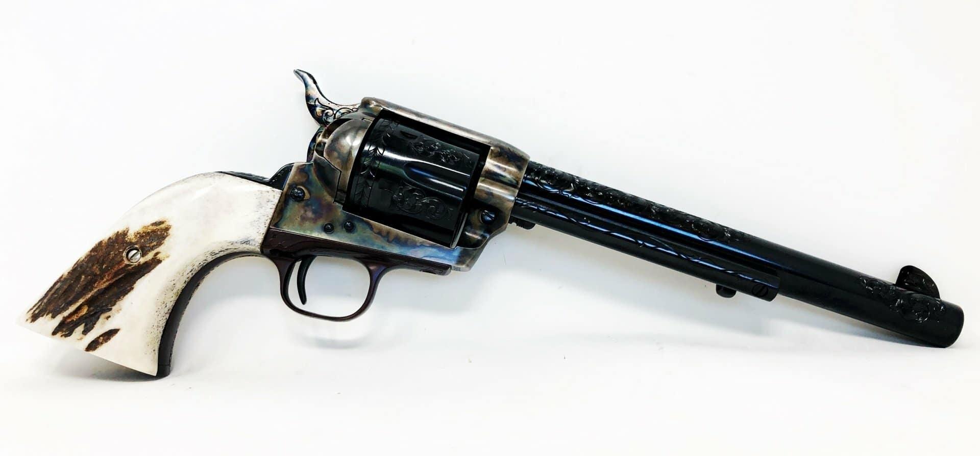 Revolver Colt Single Action Army, 2e génération daté de 1976 © Tyler Gun Works
