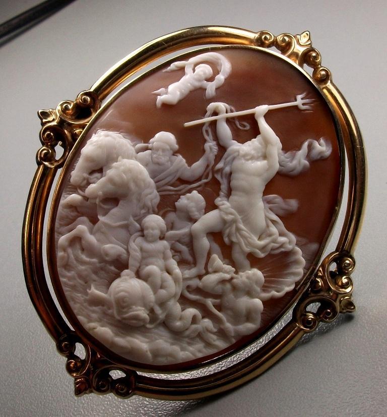 camee-italie-poseidon-histoire-trident-attribut