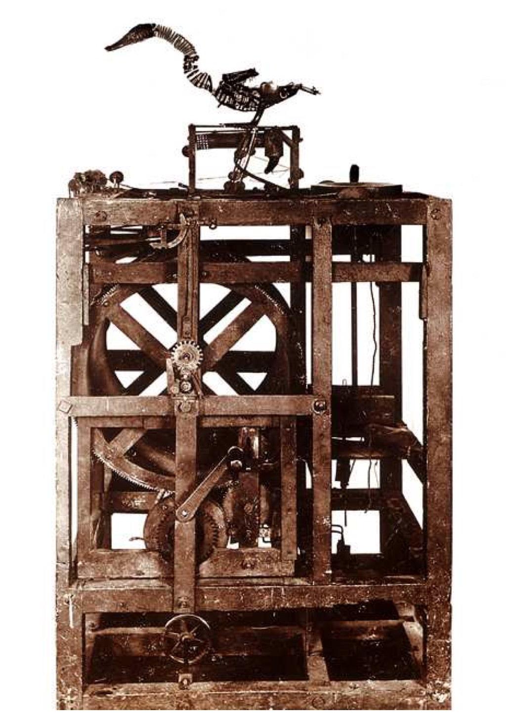 automate-canard-vaucanson-histoire