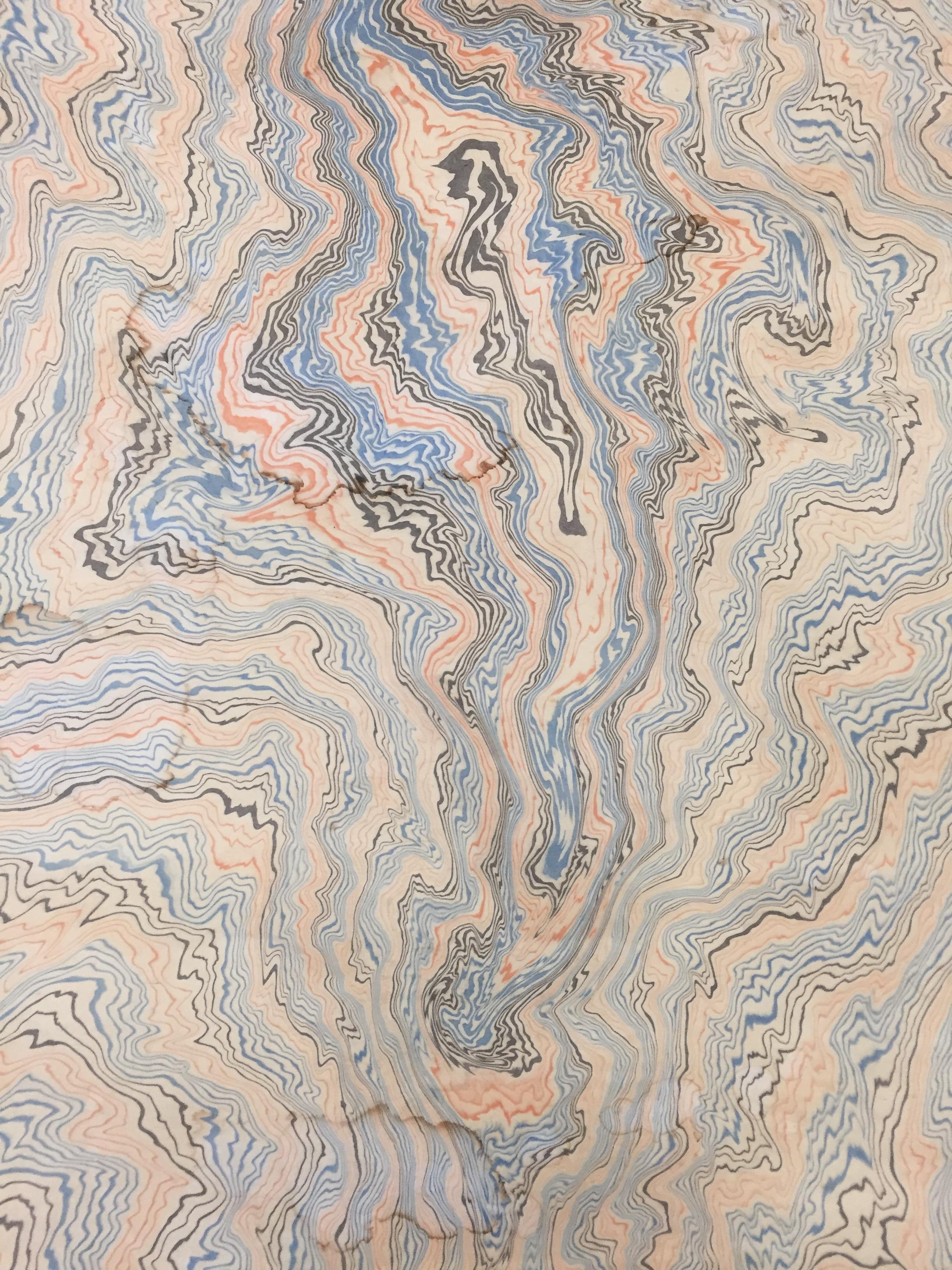 Suminagashi de Tadao Fukuda © Greenhouse Handmade House
